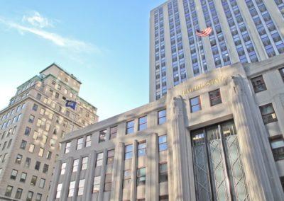 École de New York, anglais des affaires