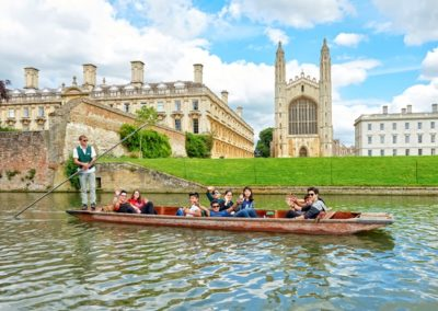 Semestre à Cambridge