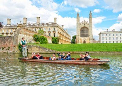 Cours d'anglais général à Cambridge